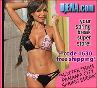 5d6d5ce5c0c UjENA Swimwear Sponsors Spring Break 2012 In Panama City Beach Florida