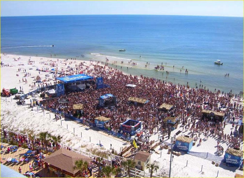 Panama City Beach The Spring Break